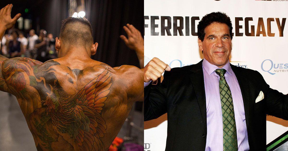 Lou Ferrigno - Bodybuilding