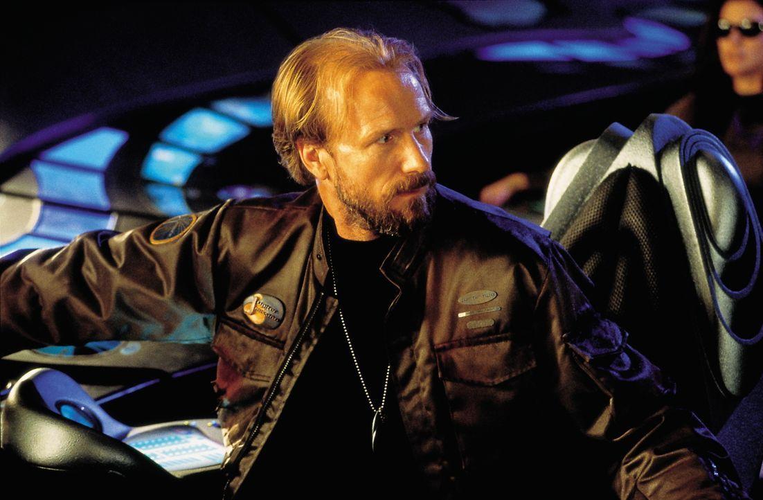 Unaufhaltsam steuert das Raumschiff durch Zeit und Raum. Verzweifelt versucht Familienoberhaupt Dr. John Robinson (William Hurt), das Raumschiff Jup... - Bildquelle: New Line Cinema
