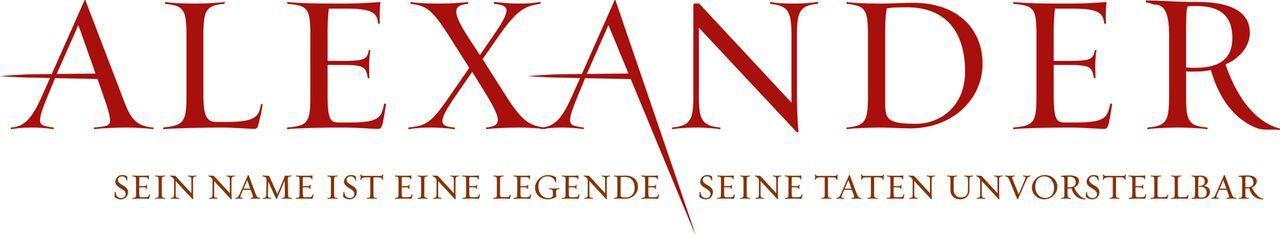 Alexander: Sein Name ist eine Legende, seine Taten unvorstellbar - Logo - Bildquelle: Constantin Film