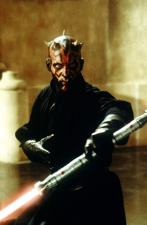 Zwielichtiger Bösewicht: Darth Maul (Ray Park) ... - Bildquelle: 1999 Lucasfilm Ltd. & TM All rights reserved Used with permission