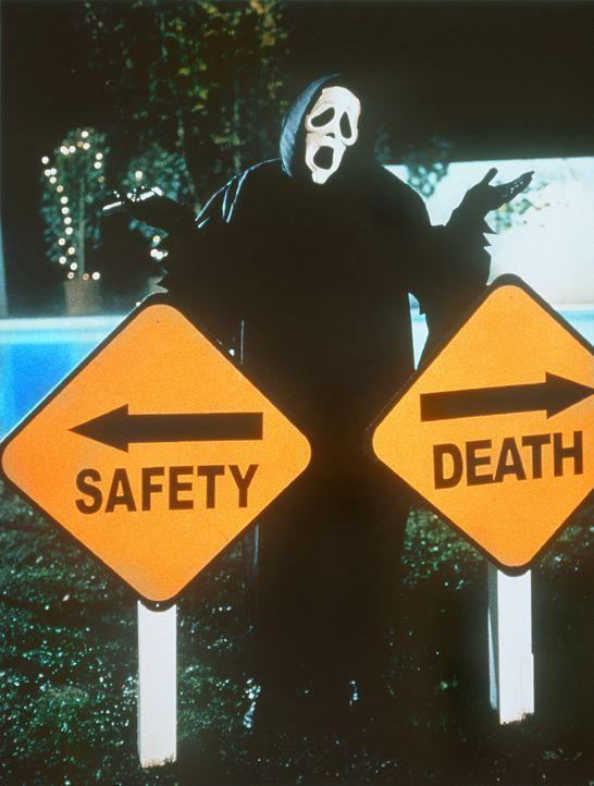 """An guten Tagen lässt der Sensenmann seinen Opfer die Wahl zwischen """"Sicherheit"""" und """"Tod"""" ... - Bildquelle: Highlight Film"""