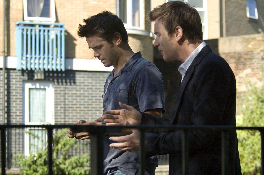 Die Brüder Ian (Ewan McGregor, r.) und Terry (Colin Farrell, l.) stecken beide wieder einmal in finanziellen Schwierigkeiten. Ihr reicher Onkel hat... - Bildquelle: Constantin Film