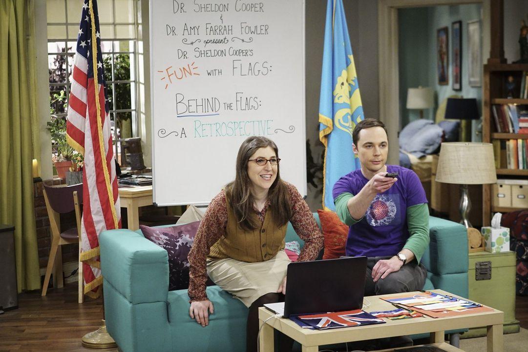 Haben immer kreative neue Einfälle: Sheldon (Jim Parsons, r.) und Amy (Mayim Bialik, l.) ... - Bildquelle: 2016 Warner Brothers