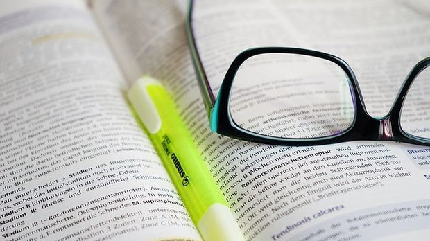 Brille-Lesen