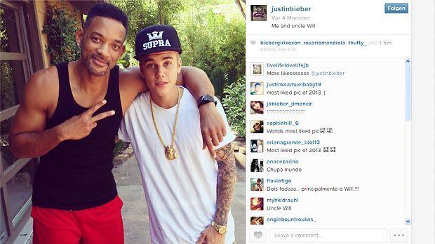 Instagram-Foto 2013 - Bildquelle: Instagram/Justin Bieber