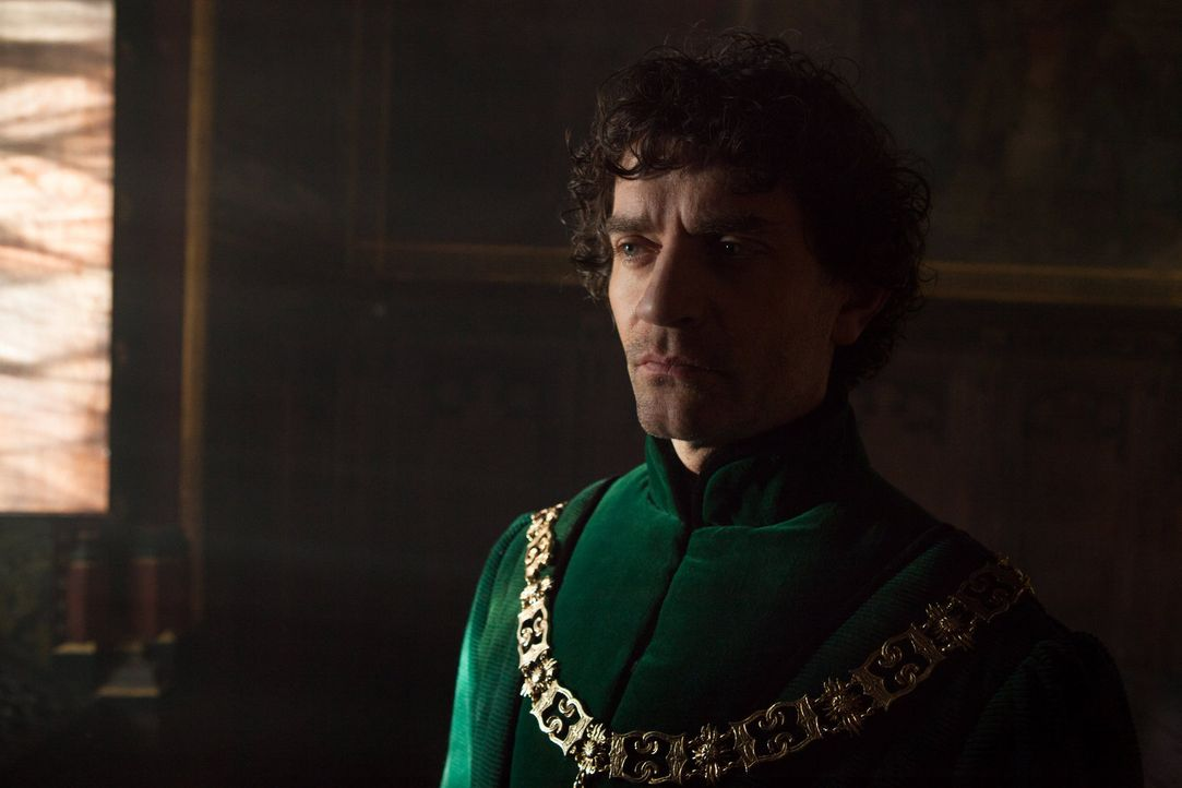Noch immer verfolgt Warwick (James Frain) den Plan, eine Armee aufzustellen und König Edward IV aus dem Weg zu räumen ... - Bildquelle: 2013 Starz Entertainment LLC, All rights reserved
