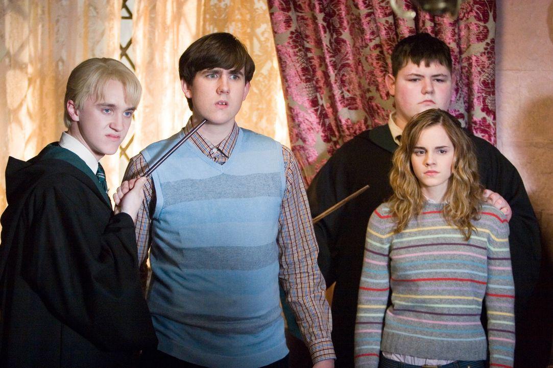 Das Ministerium will nicht glauben, dass Voldemort jeden Moment angreifen kann. Da er deshalb von dort keine Unterstützung erhalten wird, gründet... - Bildquelle: Warner Brothers International