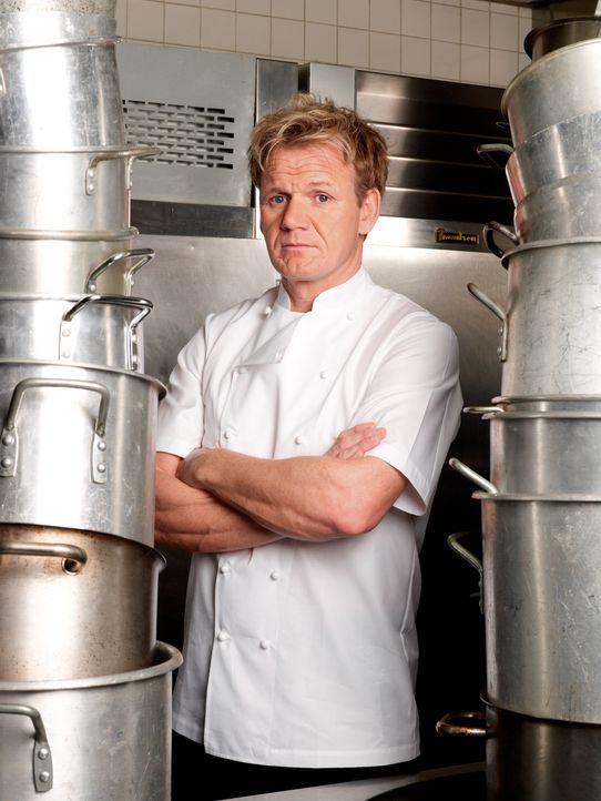 Gordon Ramsay sorgt für Ordnung in Restaurant-Küchen - Bildquelle: Fox Broadcasting. All rights reserved.