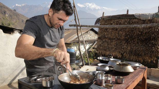 Er liebt das Abenteuer und er liebt gutes Essen: Chefkoch Kiran Jethwa bereis...