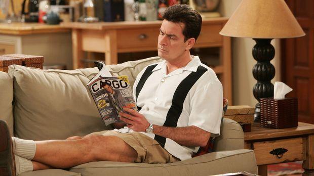 Charlie (Charlie Sheen) erkennt, dass er sein Verhältnis zu seiner Mutter ber...