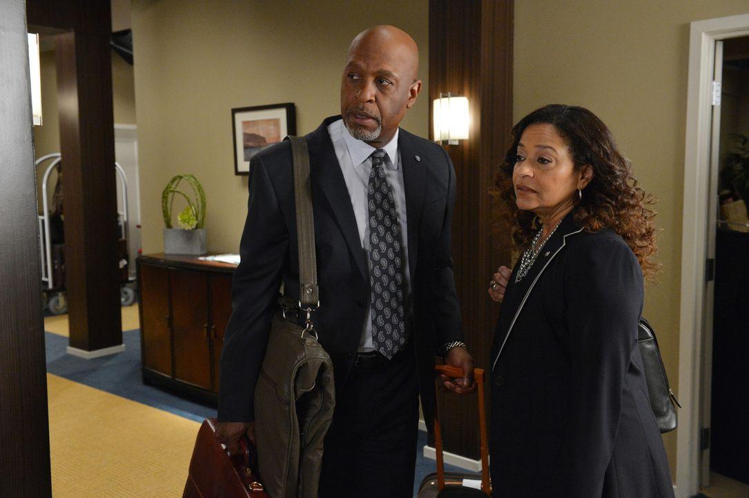 Haben sie eine gemeinsame Zukunft? Richard (James Pickens, Jr., l.) und Catherine Avery (Debbie Allen, r.) - Bildquelle: Touchstone Television