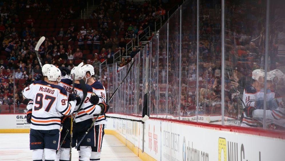 Dank Draisaitl und McDavid: Sieg für die Edmonton Oilers - Bildquelle: AFPGETTY SIDChristian Petersen