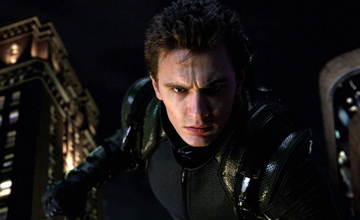 Weil sein ehemaliger Freund Harry Osborn (James Franco) ihn für den gewaltsamen Tod seines Vaters verantwortlich macht, lässt er Peter nicht mehr au... - Bildquelle: 2007 Marvel Characters, Inc.  2007 CPII. All Rights Reserved.