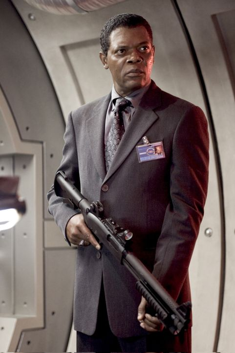 Erneut muss Agent Augustus Gibbons (Samuel L. Jackson) einen renitenten Outlaw zum Geheimagenten ausbilden. Diesmal trifft es Darius Stone. Er soll... - Bildquelle: 2005 Revolution Studios Distribution Company, LLC. All Rights Reserved.