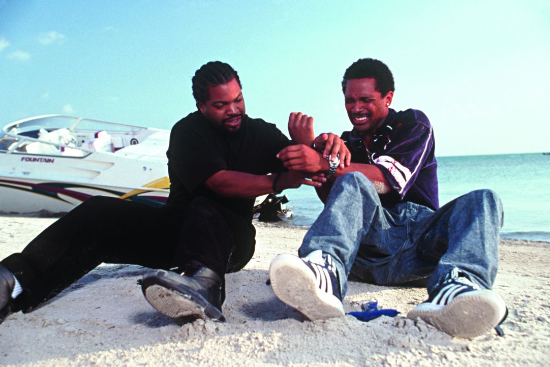 Partner wider Willen: Bucum (Ice Cube, l.) und Reggie Reed (Mike Epps, r.) ... - Bildquelle: New Line Cinema