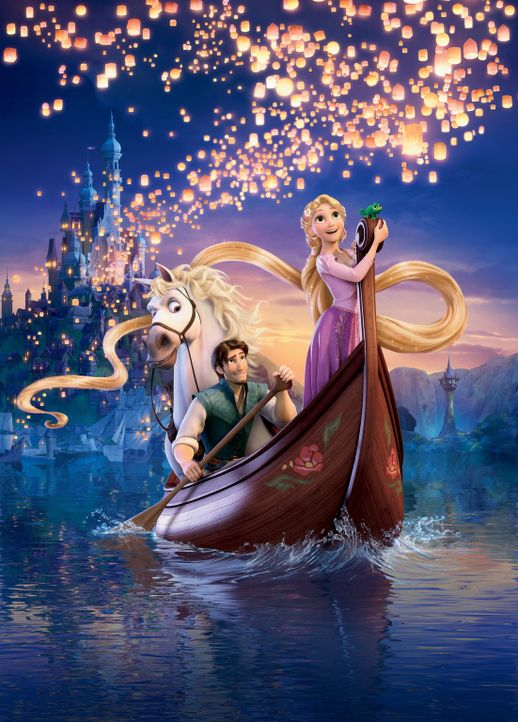 RAPUNZEL - NEU VERFÖHNT - Artwork - Bildquelle: Disney.  All rights reserved