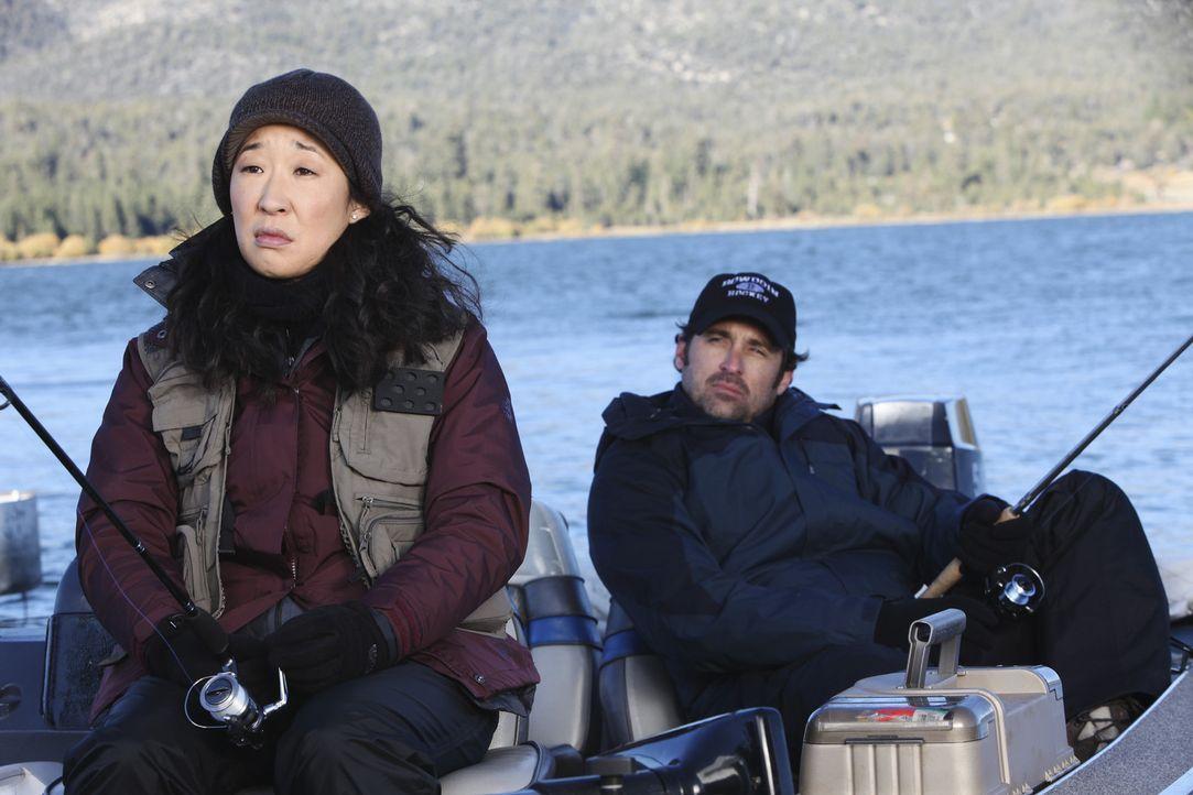 Owen macht sich Sorgen um Cristina (Sandra Oh, l.), die immer noch nicht zurück in ihren Job will. Er hat Angst, sie den ganzen Tag alleine zu lass... - Bildquelle: ABC Studios
