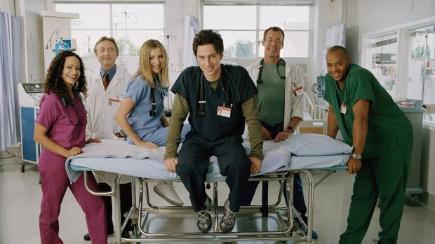 (1. Staffel) - Der harte Kern des Sacred Heart Hospitals: die drei Jung-Mediz...