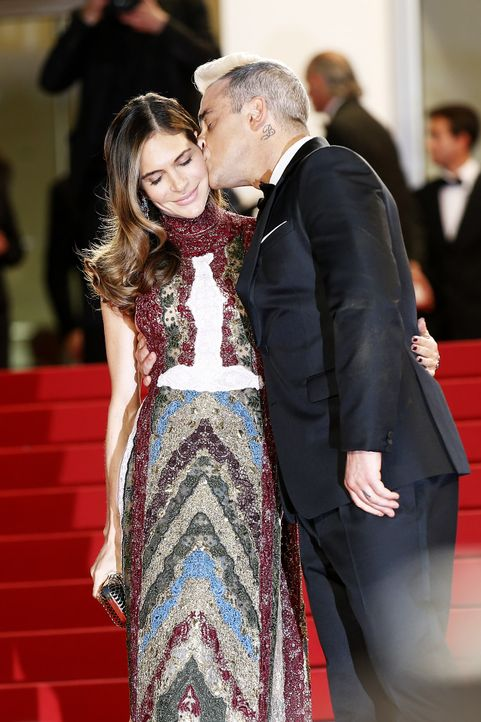 Cannes-Film-Festival-Robbie-Williams-Ayda-Field-1-150516-AFP - Bildquelle: AFP
