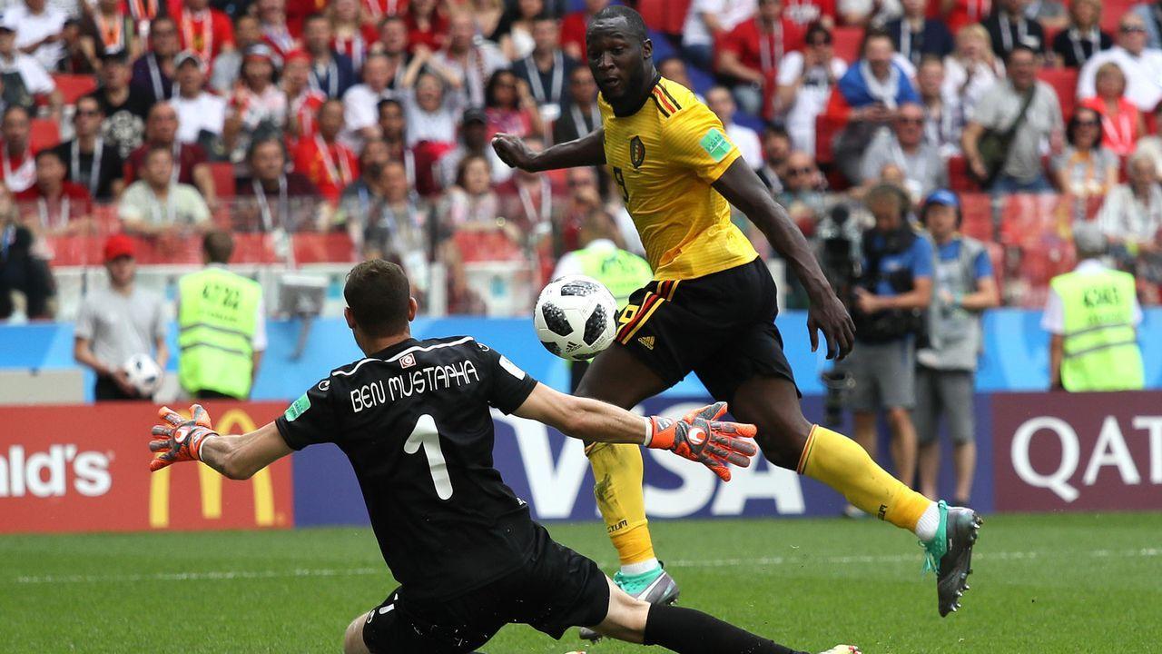 Bronze Boot: Romelu Lukaku (Belgien) - Bildquelle: 2018 Getty Images