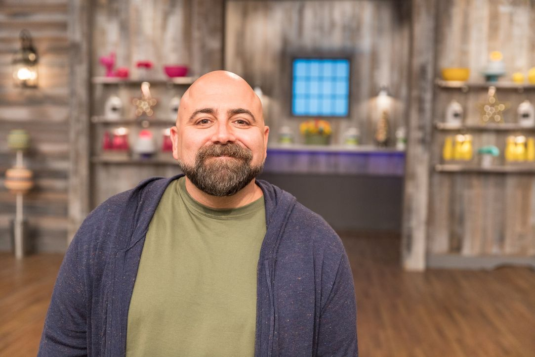 "Wer von den Junior-Bäckern kann sich vor Duff Goldman in der ""Kids Baking Championship"" beweisen? - Bildquelle: Zack Smith 2017, Television Food Network, G.P. All Rights Reserved."
