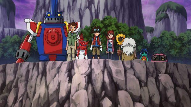 Dieses Team stellt sich jeder Herausforderung ... © Akiyoshi Hongo, Toei Anim...