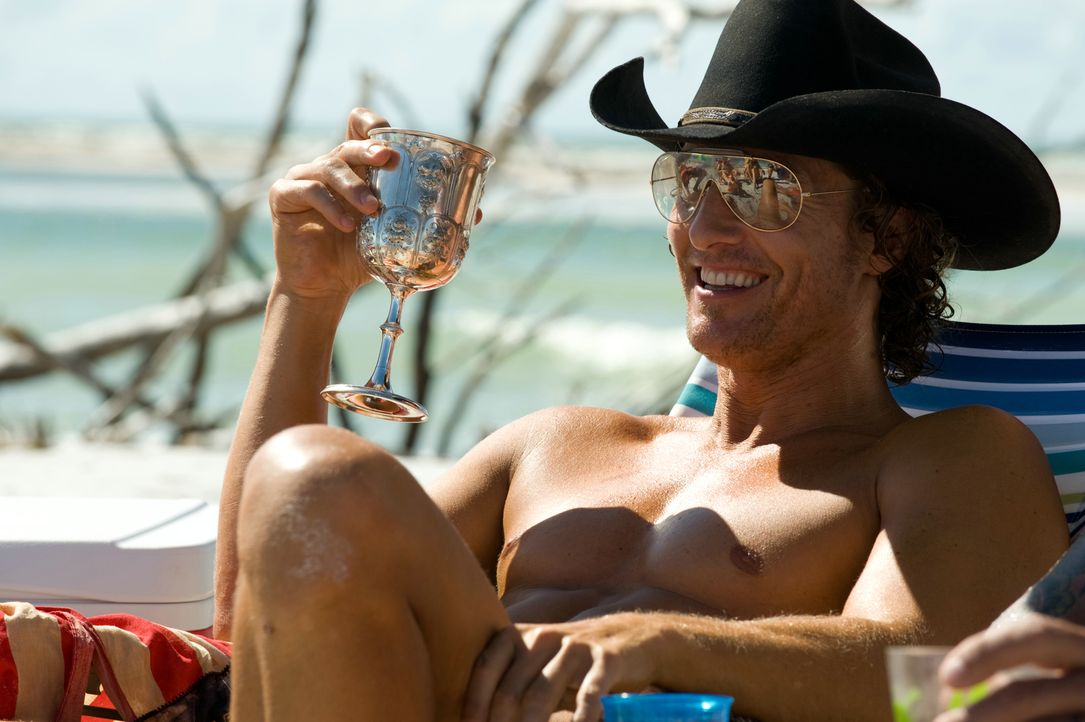 "Wenn es Abend wird, geht die Party im Stripclub ""Xquisite"" von Dallas (Matthew McConaughey) erst richtig los. Insbesondere sein bester Mann, Magic M... - Bildquelle: 2012 The Estate of Redmond Barry LLC. All rights reserved"
