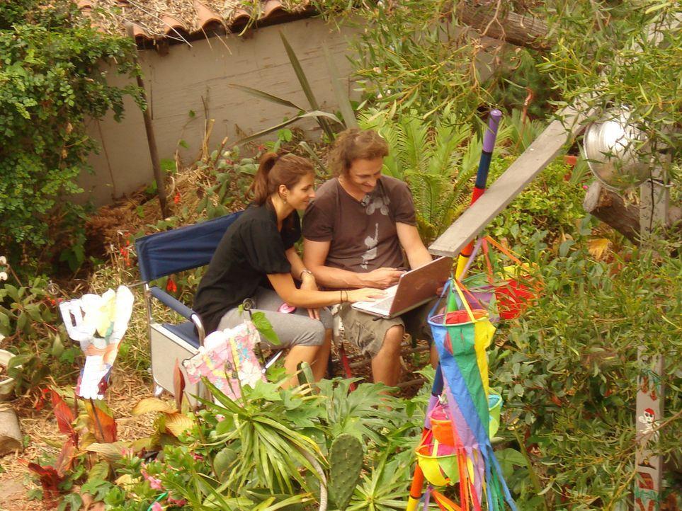 Ben (30) und Anja (25) Uphues sind vor 2 Jahren nur mit einer Idee im Gepäck nach Kalifornien ausgewandert - jetzt betreiben die beiden Jungunterneh... - Bildquelle: kabel eins