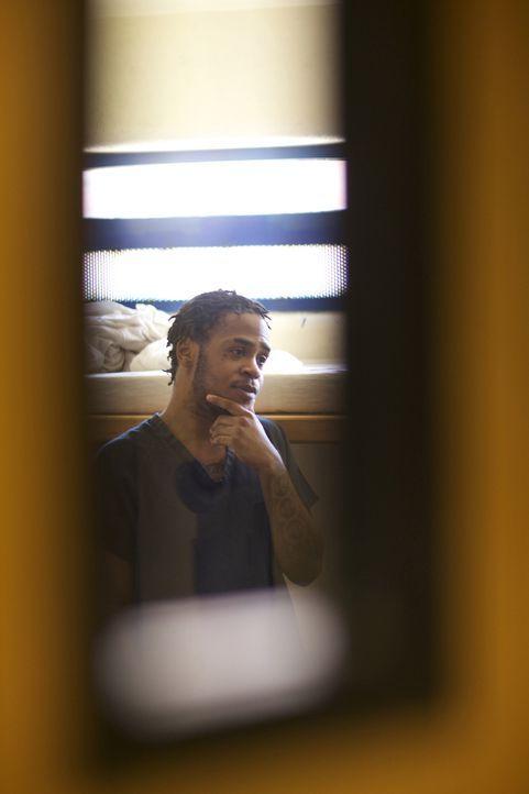 Nachdem er Zeit in Einzelhaft verbringen musste, ist Kyle Wilson nun wieder in seiner Zelle ... - Bildquelle: James Peterson National Geographic Channels