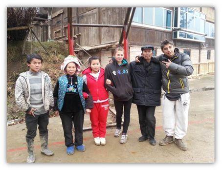 Die strengsten Eltern der Welt - In China sollen Chantal (3.v.r.) und Daniel...