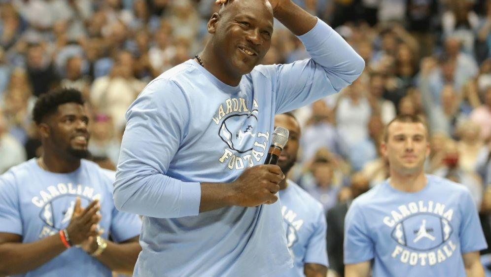 Übt Kritik: Michael Jordan - Bildquelle: GETTY AFPSID-STREETER LECKA