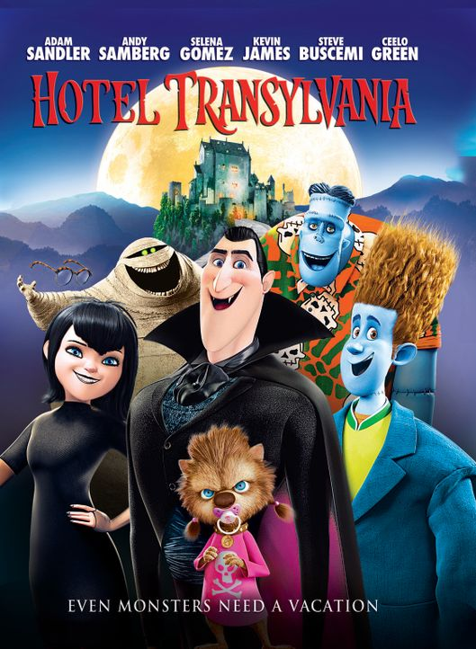 HOTEL TRANSSYLVANIA - Plakatmotiv - Bildquelle: 2012 Sony Pictures Animation Inc. All Rights Reserved.