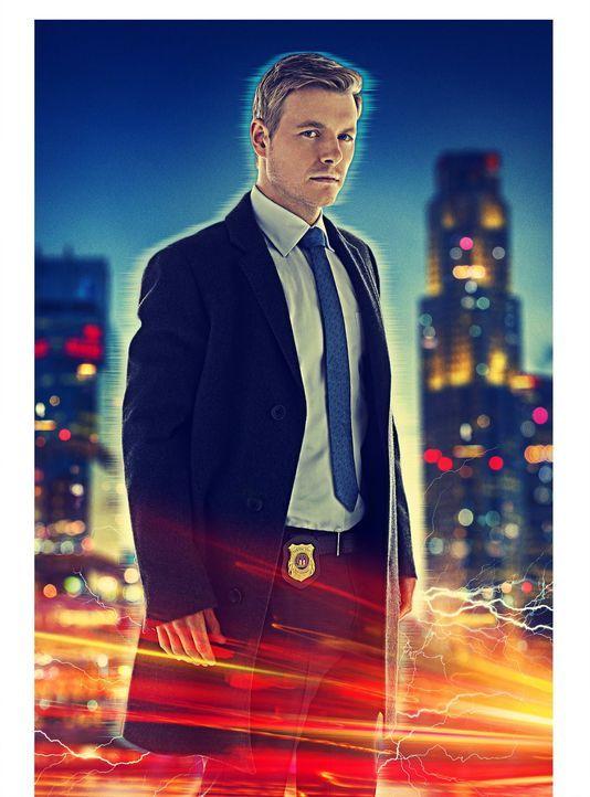 (1. Staffel) - Verbirgt eine mysteriöse Vergangenheit: Detective Eddie Thawne (Rick Cosnett) ... - Bildquelle: Warner Brothers.