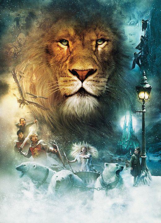 Während ihres Abenteuers lernen die Geschwister Peter, Susan, Edmund und Lucy den den König von Narnia, Löwe Aslan, kennen. Er erzählt ihnen vom... - Bildquelle: Disney Enterprises. All rights reserved