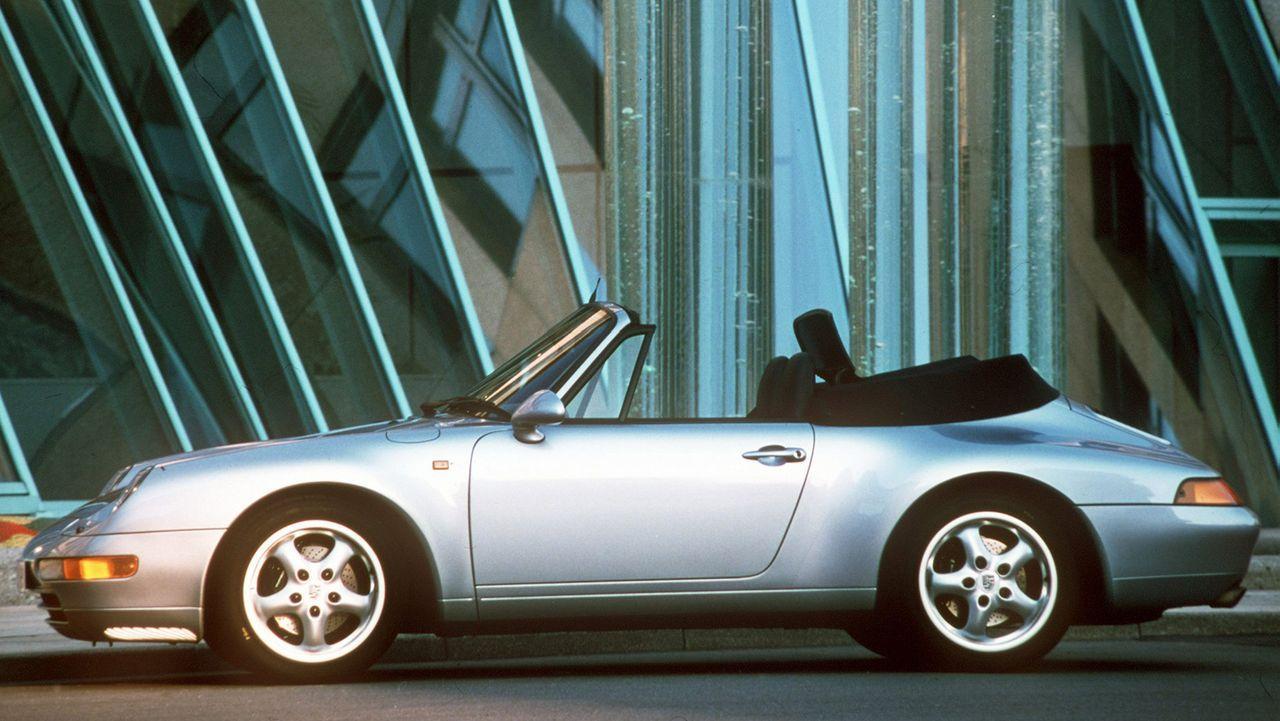 Porsche 911 Cabrio - Bildquelle: dpa