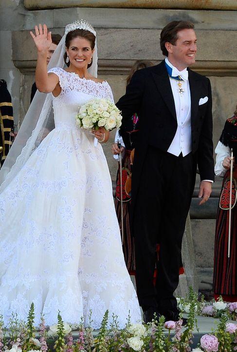 Prinzessin Madeleine - Bildquelle: AFP