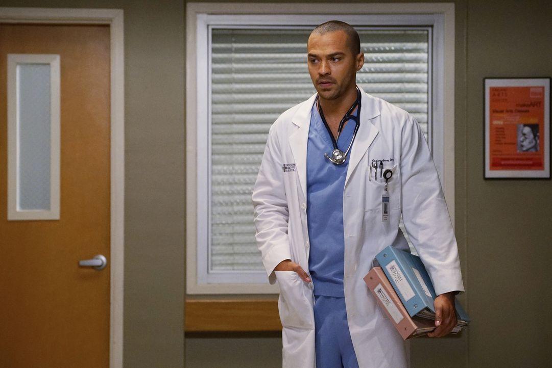 Haben April und Jackson (Jesse Williams) noch eine Chance auf eine gemeinsame Zukunft? - Bildquelle: Eric McCandless ABC Studios