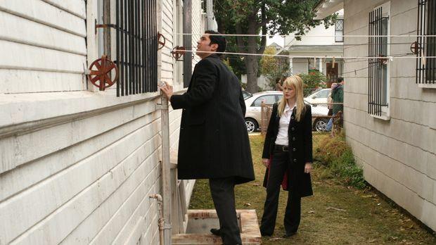 Sind Lilly (Kathryn Morris, r.) und Scott (Danny Pino, l.) auf der richtigen...