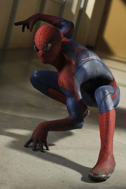 Auf dem Weg zu einem Superhelden: Spiderman (Andrew Garfield) ... - Bildquelle: 2012 Columbia Pictures Industries, Inc.  All Rights Reserved.