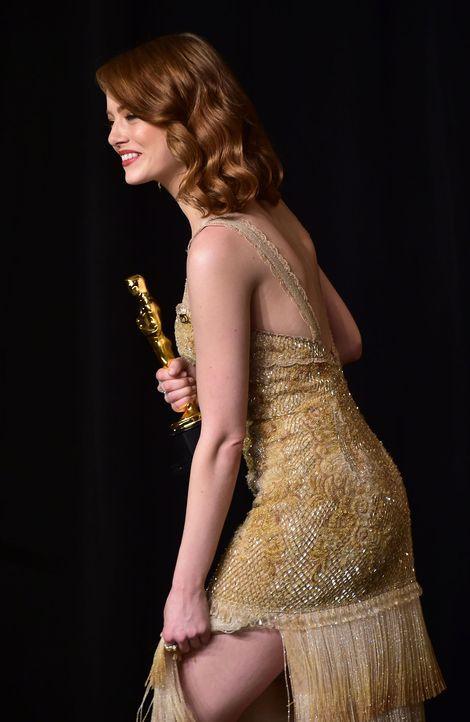 Emma-Stone2-AFP - Bildquelle: AFP PHOTO / FREDERIC J. BROWN