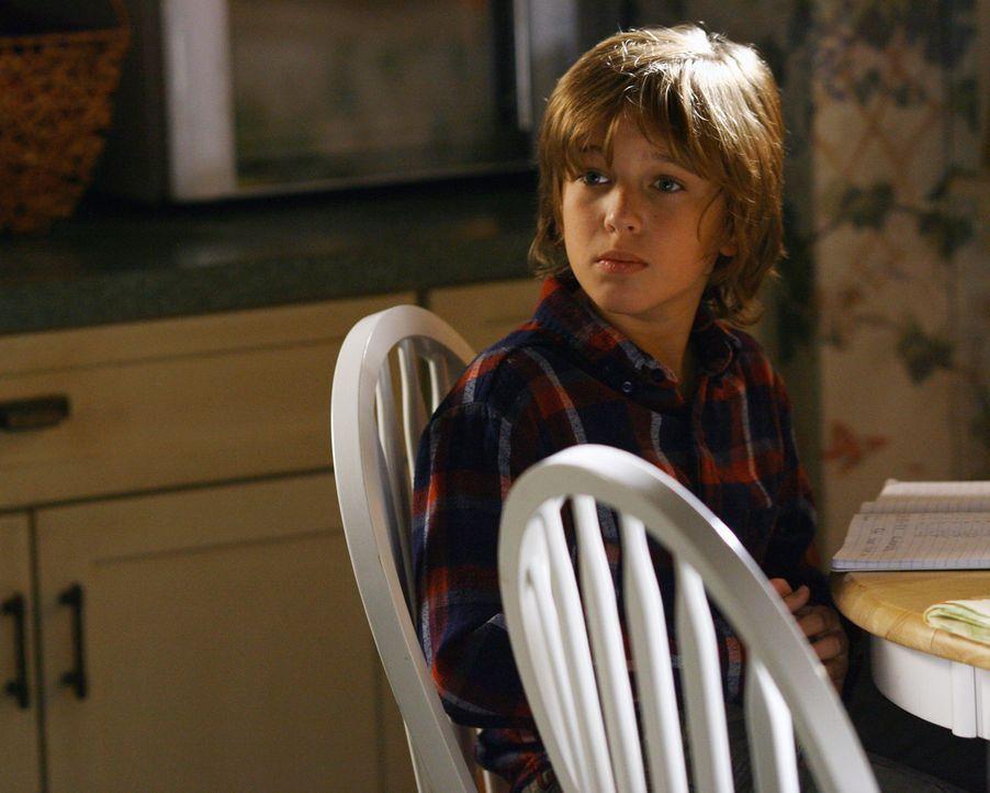 Hat Angst vor den anstehenden Veränderungen, welche die Hochzeit seiner Mutter unweigerlich mit sich bringen werden: Sam (Slade Pearce)... - Bildquelle: ABC Studios
