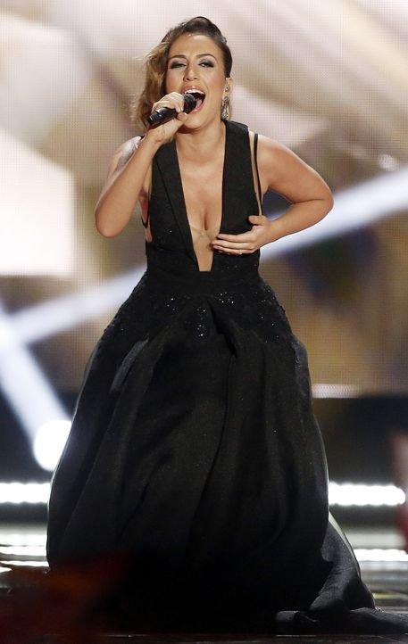 European-Song-Contest-ESC-Elhaida-Dani-150523-AFP - Bildquelle: AFP