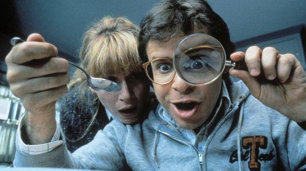 Als Diane (Marcia Strassman, l.) und Wayne (Rick Moranis, r.) in den Cornflak...