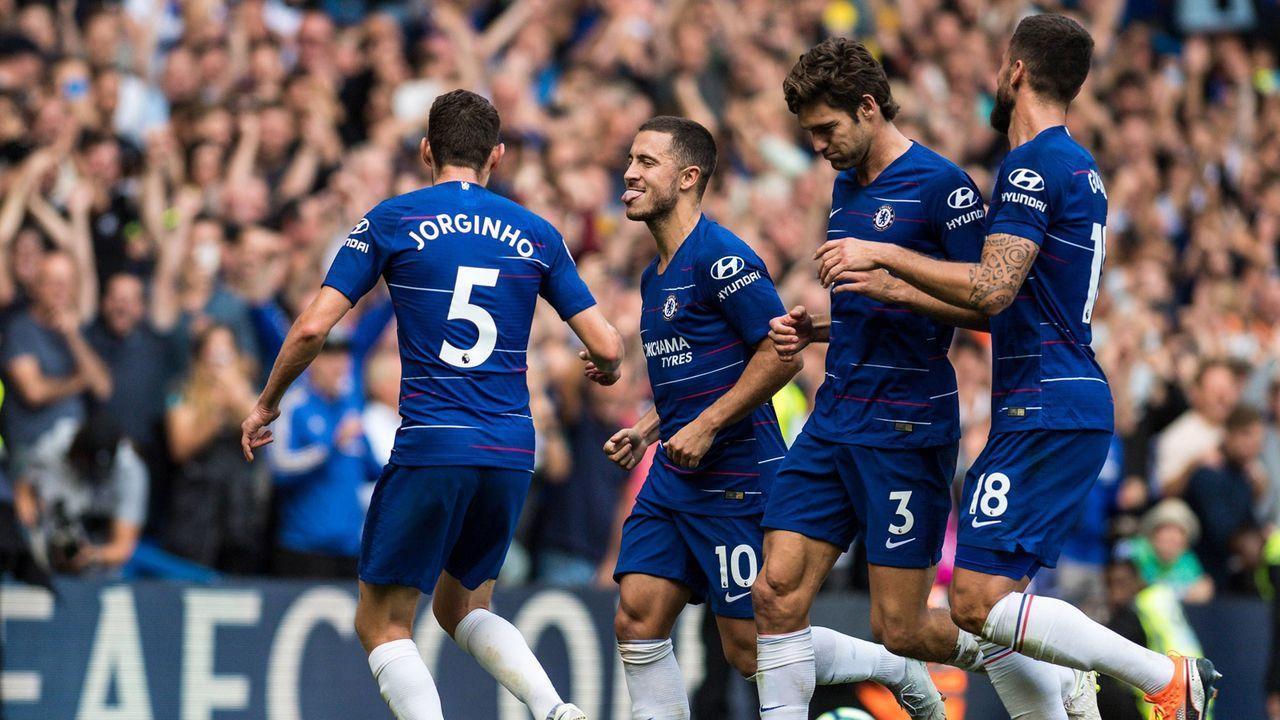 Platz 6: FC Chelsea (England) - Bildquelle: Imago