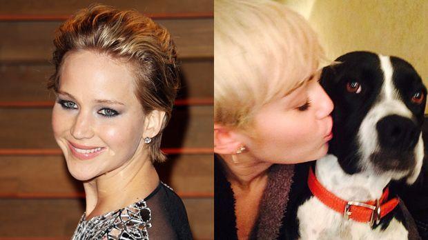 TOP Jennifer Lawrence FLOP Miley Cyrus - Bildquelle: FayesVision-WENN.com / https://twitter.com/MileyCyrus