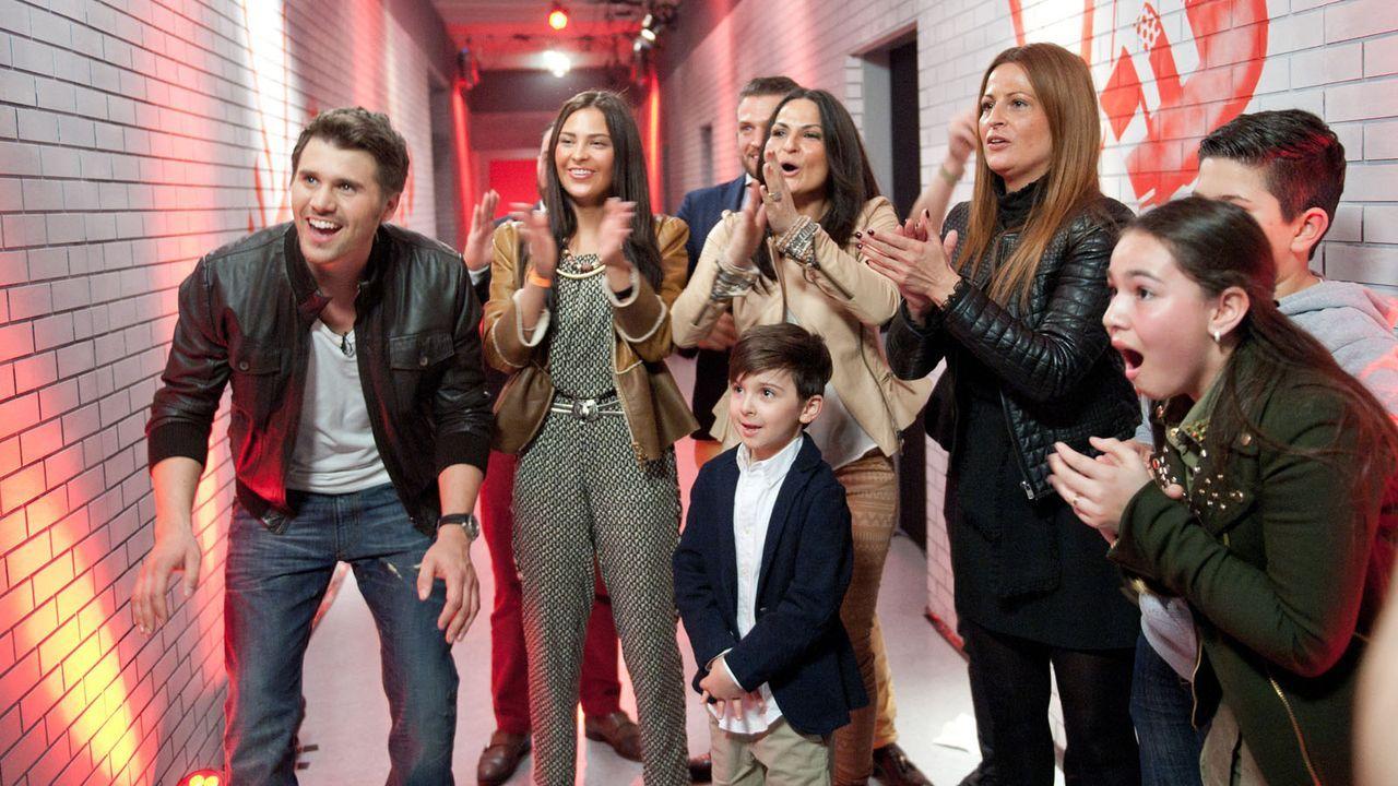 The-Voice-Kids-s01e02-Fabienne-04 - Bildquelle: SAT.1/Andre Kowalski