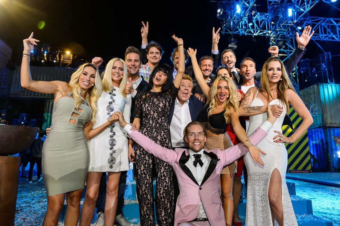 Das Finale von Promi Big Brother 2017 - alle Bewohner  - Bildquelle: SAT.1