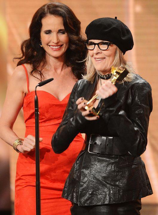 Goldene-Kamera-Diane Keaton-Andie-MacDowell-140201-dpa - Bildquelle: dpa