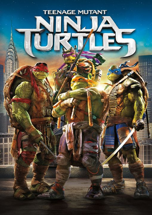 TEENAGE MUTANT NINJA TURTLES - Plakatmotiv - Bildquelle: MMXIV Paramount Pictures Corporation. All Rights Reserved.