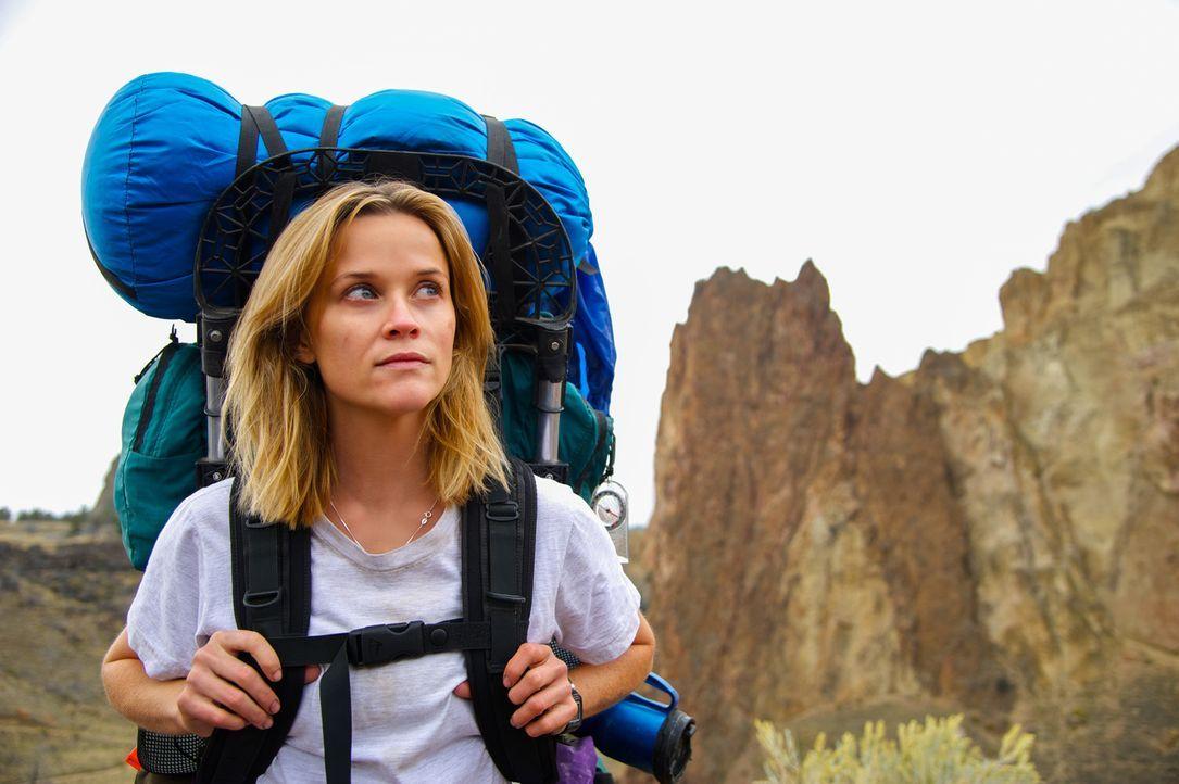 """Eine harte, nervenaufreibende Reise liegt vor Cheryl (Reese Witherspoon), als sie sich entschließt, den 1600 Kilometer langen """"Pacific Crest Trail""""... - Bildquelle: 2014 Twentieth Century Fox Film Corporation.  All rights reserved."""